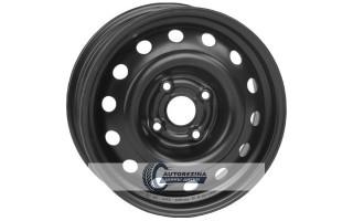 Диски Кременчуг Т1301 DAEWOO: Lanos, Sens, Nexia, Opel Corsa, Kadett 5x13 4x100 ET49 DIA56.56 Black